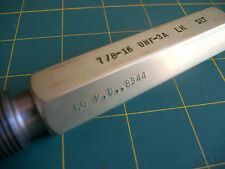 SOUTHERN GAGE CO ... THREAD PLUG GAGE ... 7/8 - 16 UNF -3A L.H. GO ..8344