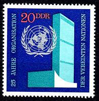 1621 postfrisch DDR Briefmarke Stamp East Germany GDR Year Jahrgang 1970