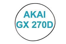 COURROIES SET AKAI GX 270 D MAGNETOPHONE A BANDE EXTRA FORT NEUF FABRIQUE GX270D