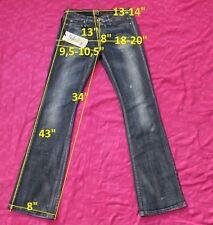 NWT 205$ MISS SIXTY J2QR00 NEW TOMMY szW23 L34 jeans boot cut women