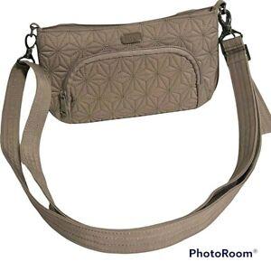 Lug Flyer Mini Travel Crossbody Shoulder Bag Gray