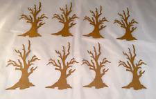Tim Holtz  Die Cuts: Branch Tree * Kraft Cardstock * Eight Trees! Spooky!
