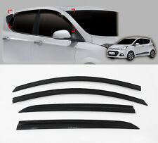 Smoke Window Sun Wind Rain Visor Vent 4p For 2014 2015 Hyundai i10 5door