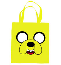 ADVENTURE Time, Jake faccia Tote Bag. ispirati dalla HIT TV Show Adventure Time.