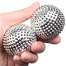 Acupuncture Hands and Feet Massaging Needle Ball 2-pc Set Medical Instrument