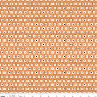 1//2 Yard Riley Blake Play Ball Geo Orange 100/% Cotton Lori Whitlock C4315-ORANGE