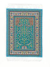 Teppich mit Fransen  ca. 9 x 17  Puppenzubehör 1:12 #1514