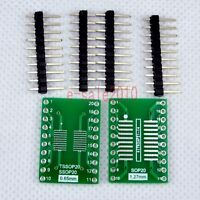 5pcs SO/MSOP/TSSOP/SOIC 20 to DIP Adapter PCB Board Converter Double Sides E05