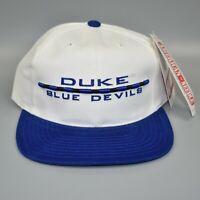 Duke Blue Devils Vintage 90's American Needle NCAA Strapback Cap Hat - NWT