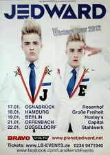 Jedward - 2012-concerto MANIFESTO-VICTORY-TOUR Poster