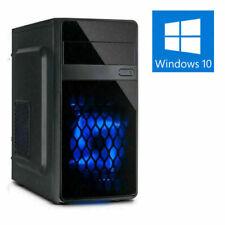 GAMER PC AMD RYZEN 5 Pro 2400GE 8-32GB DDR4 SSD+HDD VEGA11 Win10 Gaming Computer
