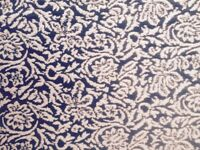 Nude Floral Pattern Jacquard Fabric