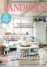 Landhaus Living 1/ 2021 Januar/ Februar: Kuschelige Wohnideen, Haustiere, Rezept