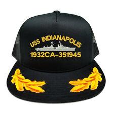USS INDIANAPOLIS 1932 CA-35 1945 SCRAMBLED EGGS YUPOONG CAP HAT