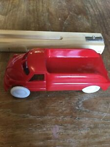 1950s (?) Red Plastic Cheerio Truck - Made In Canada