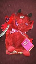 Valentine Musical, Light Up Plush Horny Devil Dances and Talks Dirty! Cute! New!
