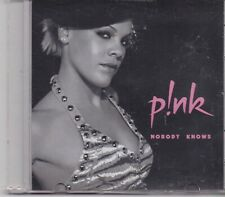 Pink-Nobody Knows promo cd single