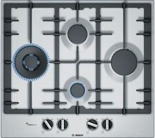 Bosch PCI6A5B90 Serie 6 90cm Induction Gas Hob in Stainless Steel (H140)