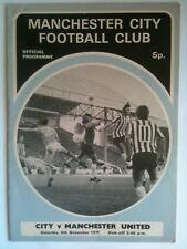 1971/72 Manchester City v Manchester United 1st division