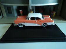 Oxford  1955  BUICK CENTURY  Coral and White  1/87   HO  diecast car     GM