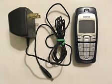 Nokia 6010 - Blue (At&T/Cingular) Gsm Cellular Phone Working