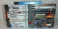 Lot Of 23 Sony PlayStation 3 PS3 Video Games Complete CIB Tested SOCOM 4 & More