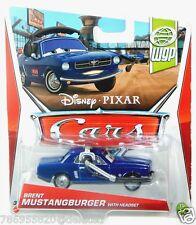 Disney Cars WGP World Grand Prix Series 15 of 17 Brent Mustangburger w Headset!
