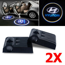 Hyundai Door Projector Car Logo LED Light Shadow Lamp Wireless Courtesy Laser 2X