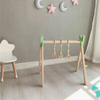 Pine Wooden Baby Play Gym Activity Frame Room Gym Nursing Decor Montessori Toys