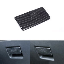 Carbon Fiber Style Front Glove box Cover Trim For Land Rover Discovery Sport 15+