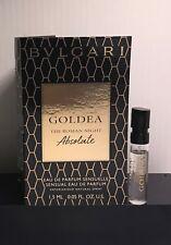 BVLGARI Goldea The Roman Night Absolute .05 oz   1.5 ml Sample 605ee72d606