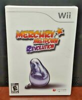 Mercury Meltdown Revolution  Nintendo Wii and Wii U Rare Game - Brand New Sealed