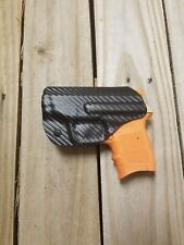 S&W M&P Bodyguard 380 without laser Carbon Fiber Black Kydex IWB holster right