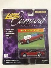 2000 Johnny Lightning Camaro Collection Die-Cast 67 Camaro RS/SS (Red)