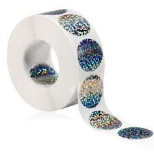 500 Laser runde Aufkleber Geschenkverpackung Versiegelung DIY Durchmesser 2,5 cm