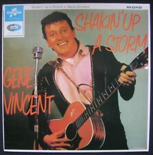 "GENE VINCENT ""SHAKIN' UP A STORM"" LP/33T FRANCE n°33SX1646/EMI/1984/ROCK N ROLL"