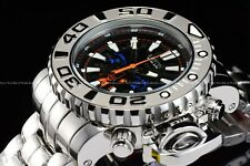 "Invicta 70mm Full Sea Hunter High Polished Silver ""Ice Berg"" Swiss Movemnt Watch"