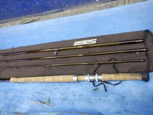 "SAGE GRAPHITE Ⅲ 1050-4 15'0"" #10 4Piece Fly Rod Fishing w/Case F/S"