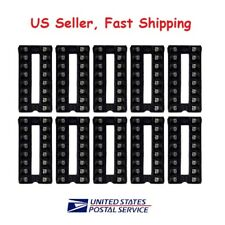 10pcs 16 pin DIP IC Sockets Adaptor Solder Type Socket - US Seller Fast Shipping