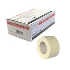 Sterotape ZO Zinc Oxide Injury Adhesive White Support Tape 2.5cm x 5m Box of 12