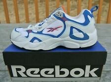 3e0755f9f5a0 NWB Men s Reebok Levitator MC White Blue Orange Running Shoes 1-49529 Size