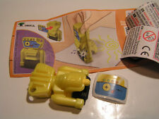 Überraschungseier Mixart Vögel auf Rollen Malstifte Gelb Stift gelb EN041A BPZ