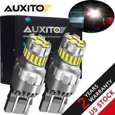 AUXITO 7443 7440 23SMD Canbus LED Reverse Brake Stop DRL Light Bulb Super White