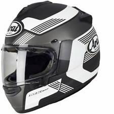 Motorrad Helm Arai Profile-V Copy Black Farbe: Schwarzmatt/Weiß/Grau Gr: S (55)
