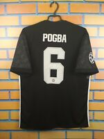 Pogba Manchester United Jersey 2017 2018 Away LARGE Shirt BS1217 Football Adidas