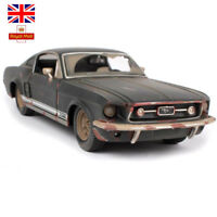 UK 1:24 1967 FORD Mustang GT Jeep Vintage Classic Diecast Model Cars Xmas Toys