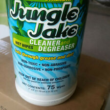 6 Jungle Jake Cleaner / Degreaser Wet Wipes