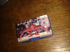 * Nintendo GameBoy Advance SP GAME CASE - BLUE - SPIDERMAN 2  * NEW RARE