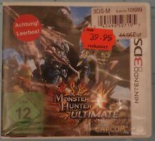 Monster Hunter 4 Ultimate (Nintendo 3DS, 2015, Keep Case)