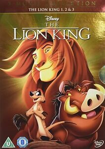 The Lion King: 3-Movie Collection [DVD][Region B/2] NEW